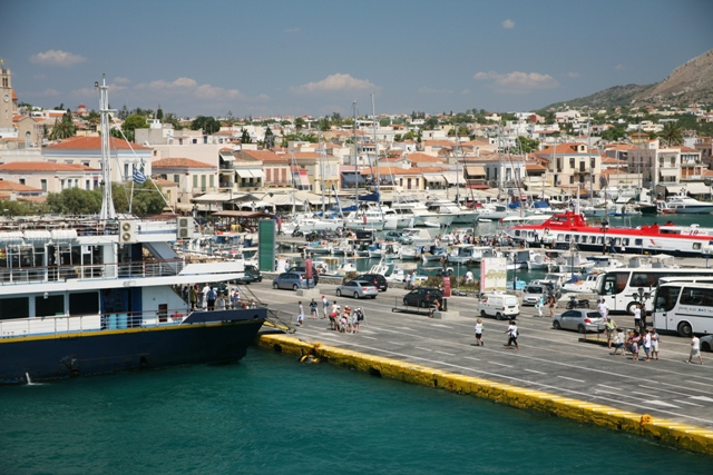 Aegina Island - General port view