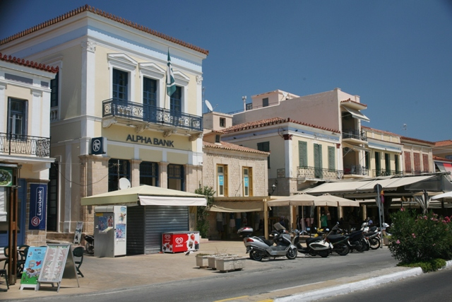 Aegina Island - Typical architecture of the island