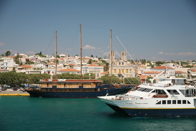 Argo-Saronic Island of Aegina - A mix of the old and new