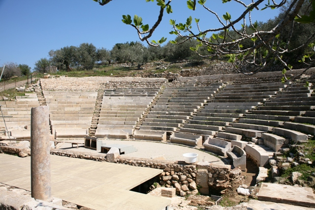 The small theatre of Archaic Epidavros