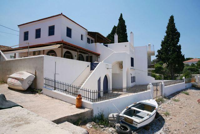 Greek Property Beachfront Sea Town House Argo-Saronic Island