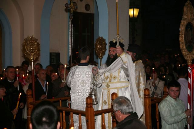Easter in Ermioni: Easter Saturday evening