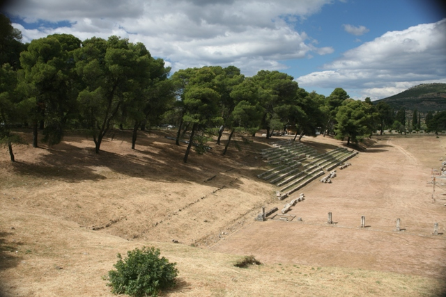Epidavros - The sanctuary stadium