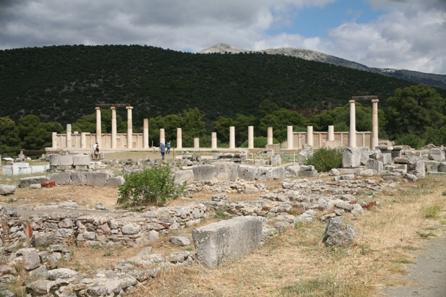 The sleeping wards Stoa complex