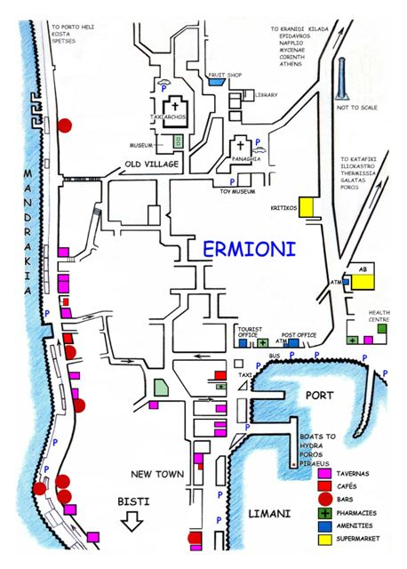 Ermioni pharmacies and health centre