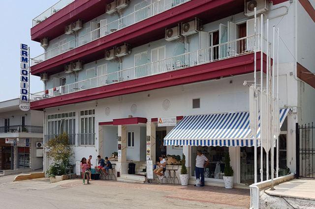 Kranidi - Ermionida Hotel and K-TEL bus terminus