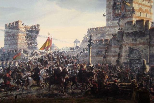 Fall of the sacred city of Constantinople - May 1453