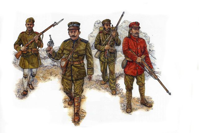 Greek Army - First Balkan War 1912