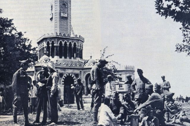 Royal Hellenic Army in Smyrna - May 1920