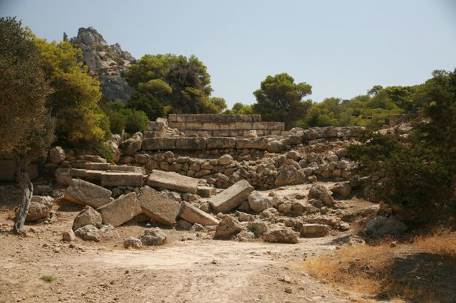 The secondary temple of Hera Limenaia
