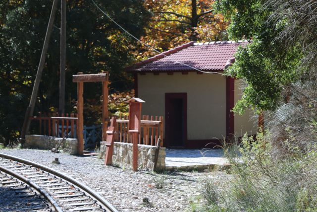 Kalavrita - One of many station stops along the journey