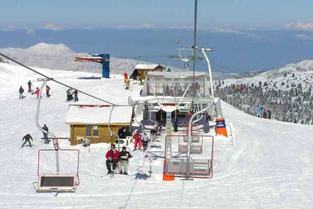 Kalavrita - Attracts skiers from all over Greece