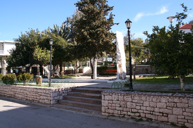 Another park in the new town of Kranidi