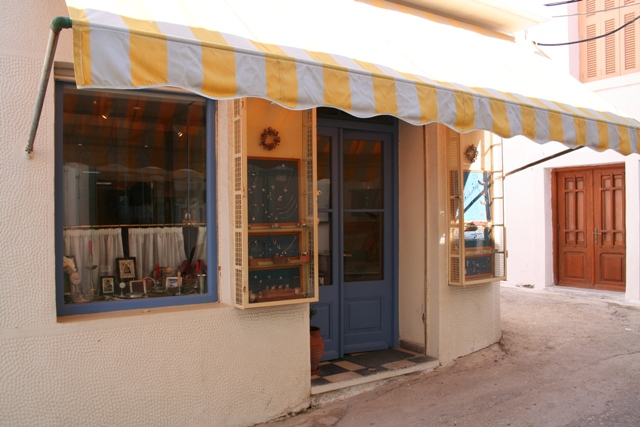 Explore the back streets of Kranidi to find quaint little shops
