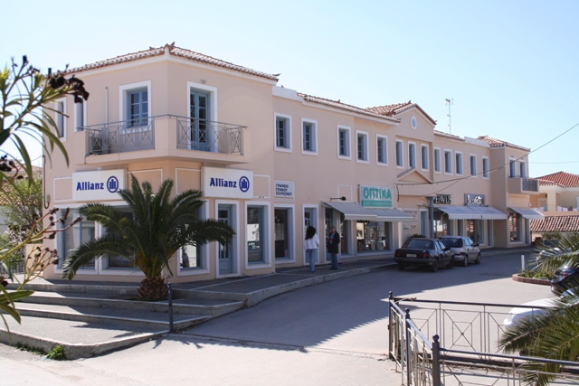 A modern plateia in central Kranidi