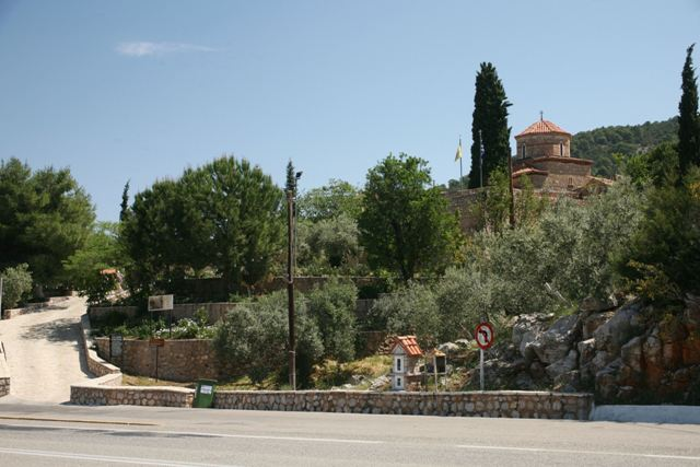 Agnoundos Monastery - On the main Ermioni-Corinth road