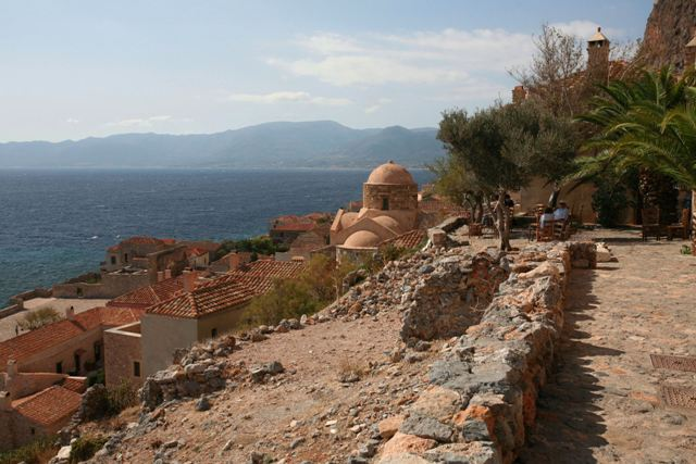 Monemvasia - Typical view of the Lower Town