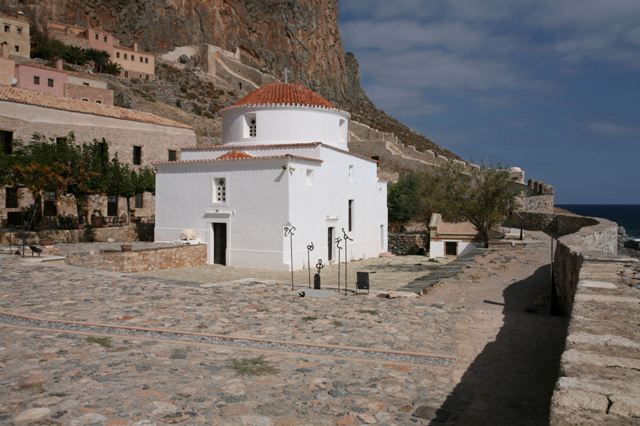Monemvasia - Byzantine Church of Panaghia Chrysafitissa