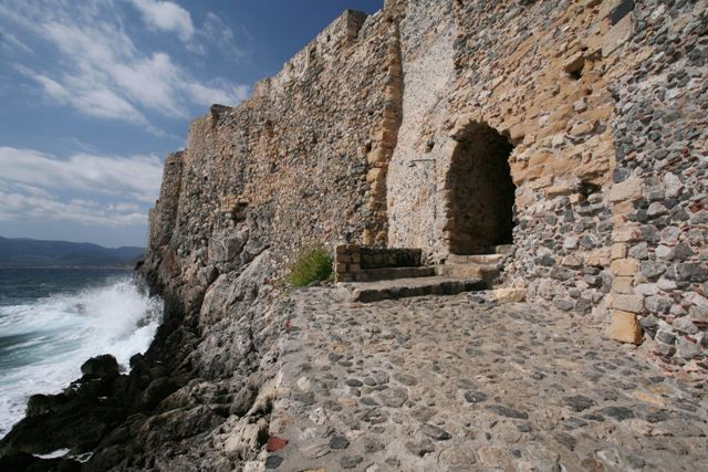 Monemvasia - The sea gate of the Lower Town