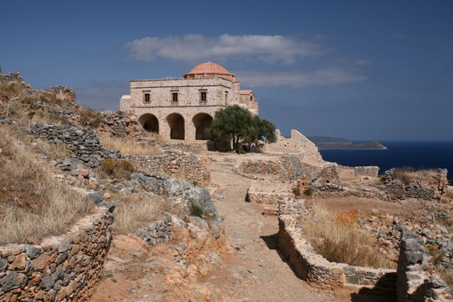 Monemvasia - 12th Century church of Aghia Sophia