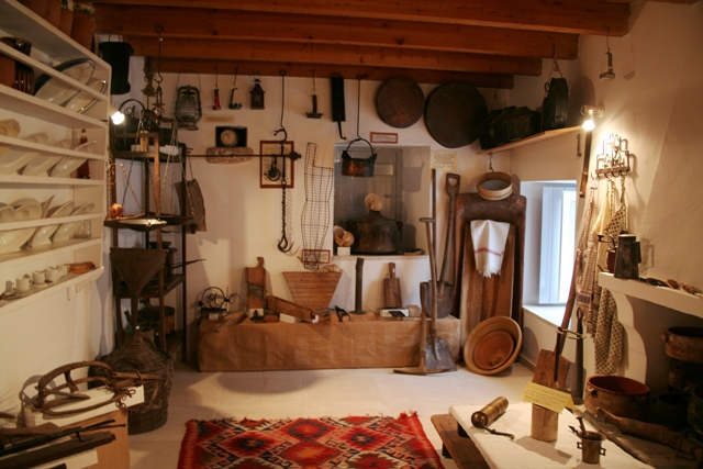 Traditional domestic tools and implements