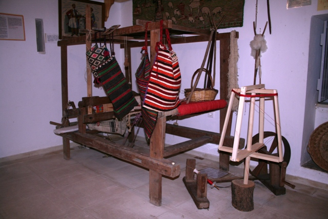 A traditional 19th Century loom