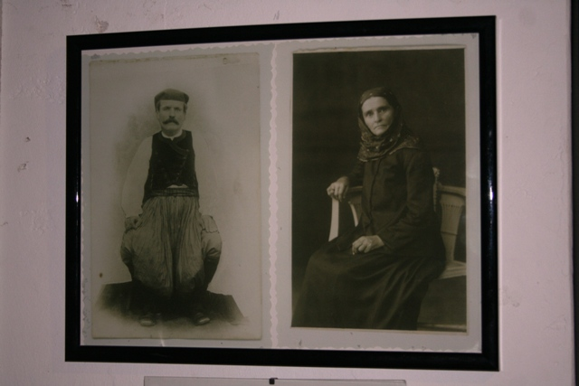 Pictures of the last owners of the museum building