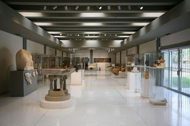 Archaeological Museum of Isthmia - General view of Ground floor