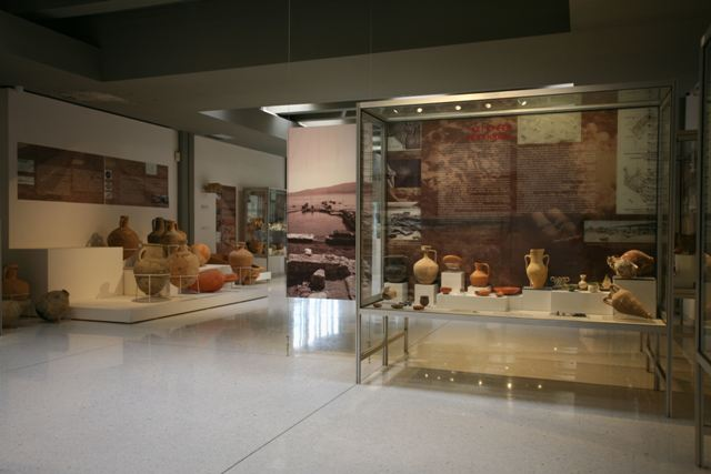 Archaeological Museum of Isthmia - Pottery section