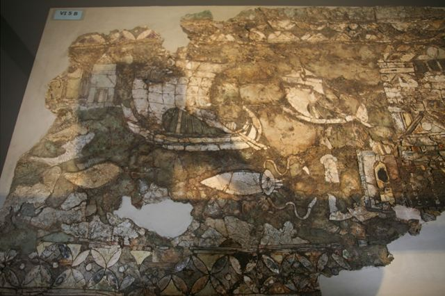 Archaeological Museum of Isthmia - Opus sectile panels