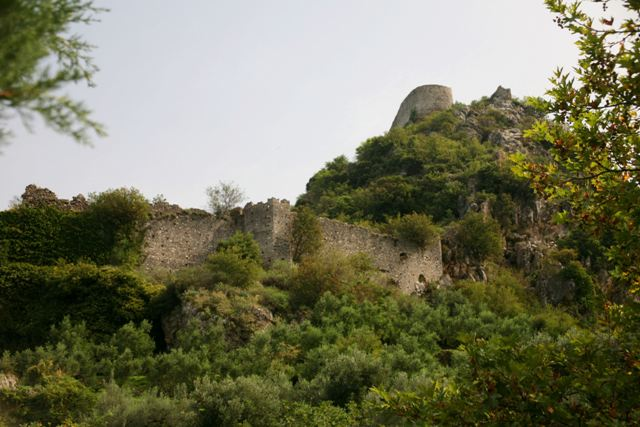 Mystras - Defensive walls of the Upper town