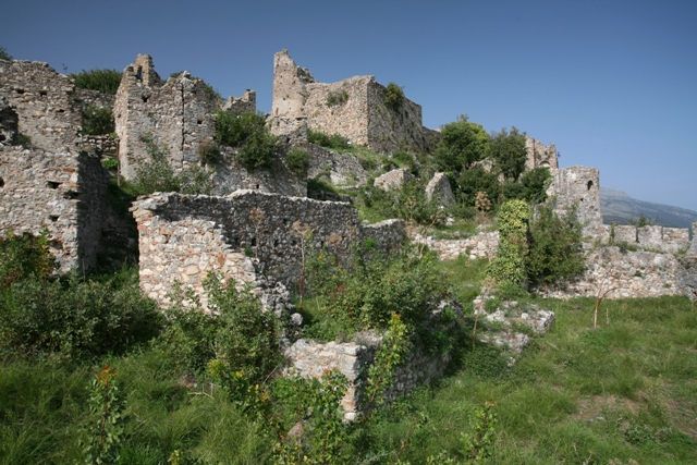 Mystras - Byzantine buildings of the Morea
