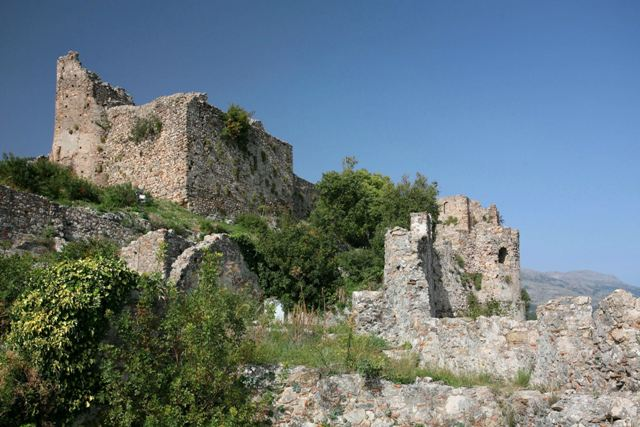 Mystras - Byzantine buildings of the Upper Town