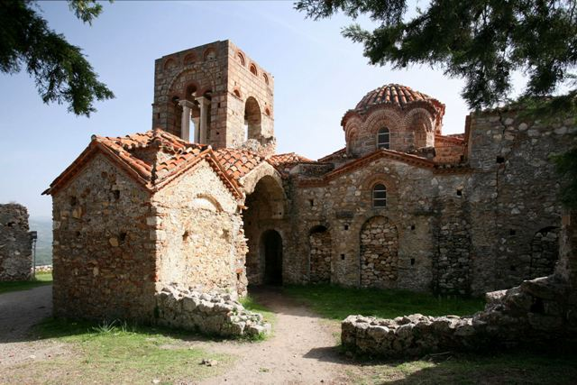 Mystras - Church of St. Sophia