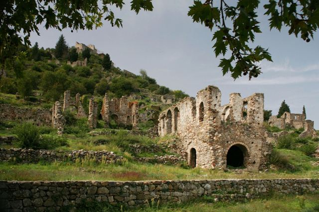 Mystras - Lower Town buildings