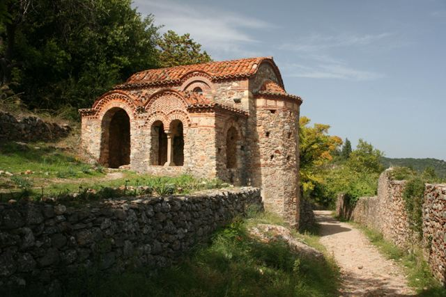 Mystras - Chapel of St. George