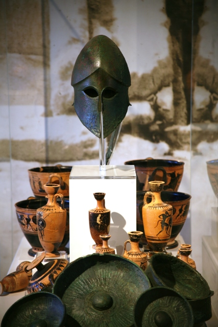 A small selection of antiquities found within Ermioni