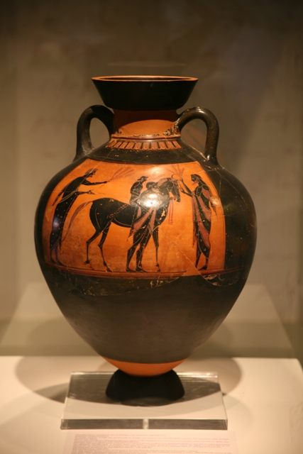 Nafplio - Typical vase art from classical Greece