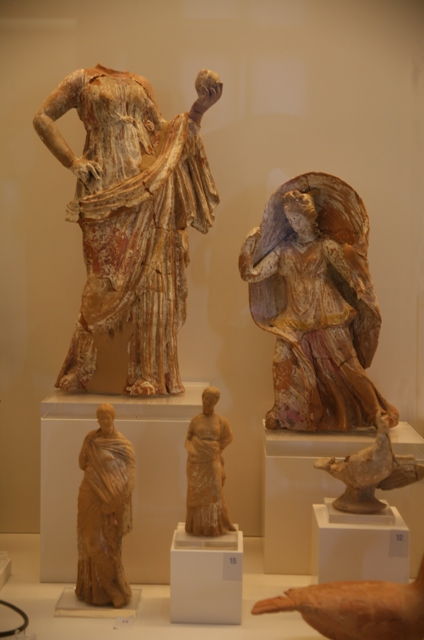 Nafplio - Classical figures from the 5th Century BC
