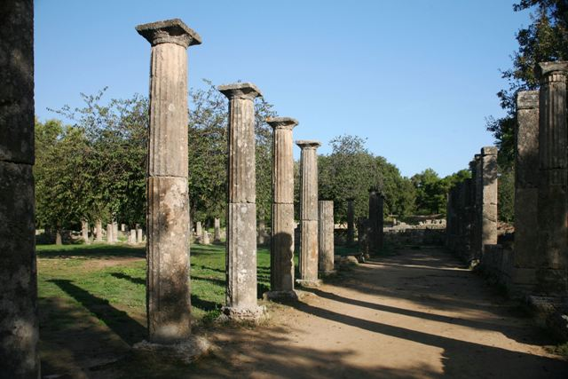 Ancient Olympia - The Palaistra