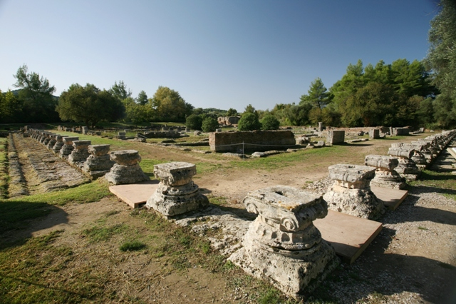 Ancient Olympia - The Leonidaion