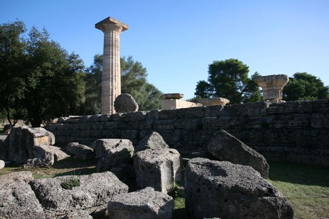 Ancient Olympia - Temple of Zeus