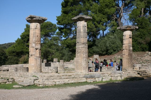 Ancient Olympia - Temple of Hera - Heraion