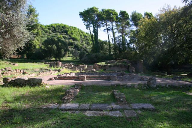 Ancient Olympia - Prytaneion officials building - 5th Cen. BC