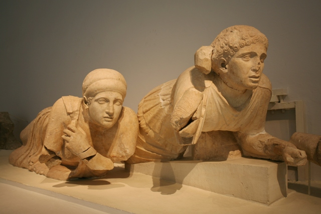 Ancient Olympia Museum - Lapith women from the West pediment