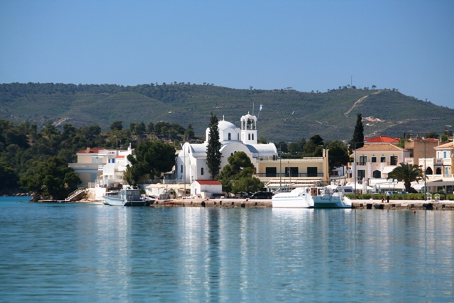 Porto Heli waterfront church