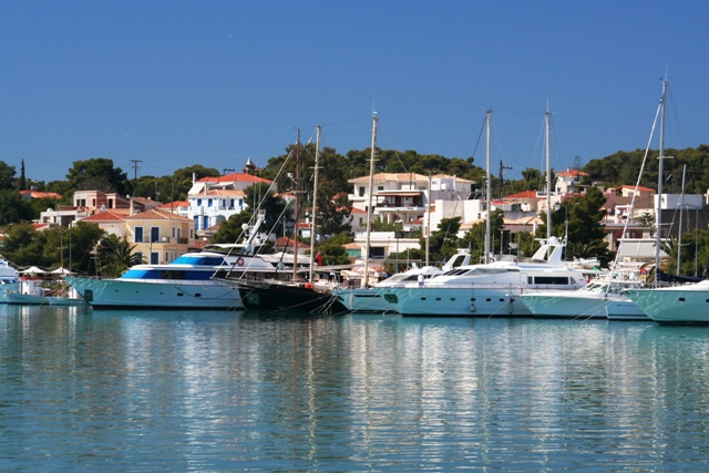 Porto Heli waterfront