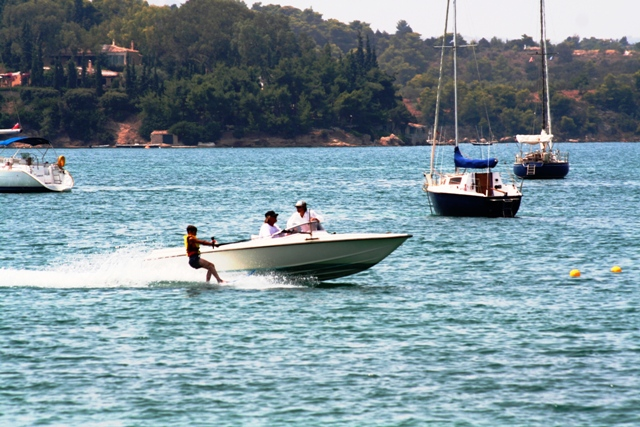 In Porto Heli one can enjoy watersports in abundance