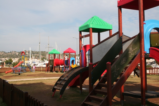 Porto Heli waterfront children's park
