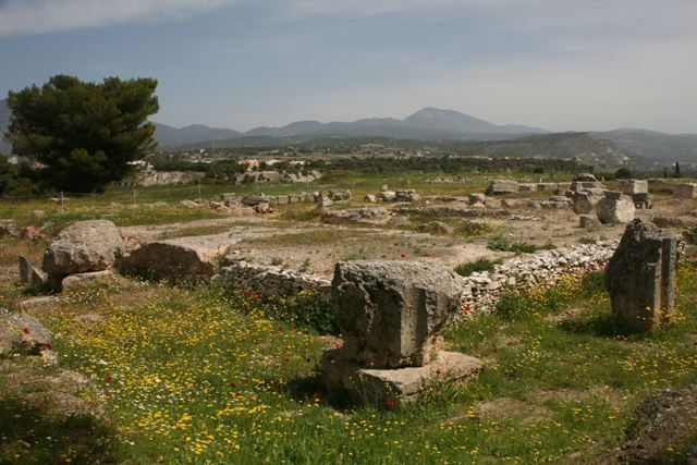 Isthmia Sanctuary - Doric Temple of Poseidon